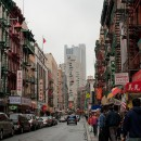 Walking down the streets if Manhattan's Chinatown. Recent Census findings show that Brooklyn is now home to more Asians than Chinatown. Flickr/janoma.cl.