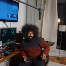 Comedian/musician Reggie Watts, a staple of the international comedy and performance scene, is featured in season two episode three. Courtesy of MADE HERE