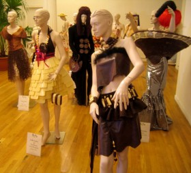 Edible dresses on display at last year's chocolate show. The New York Chocolate Show is the largest in the United States. Photo/Flickr istolethetv