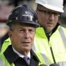 "New York City Mayor Michael Bloomberg speaks before helping to plant the Survivor Tree at the World Trade Center site on Dec. 22, 2010. Bloomberg said Tuesday that since so much progress had been made on the site, it should no longer be called ""Ground Zero."" AP Photo/Mark Lennihan"