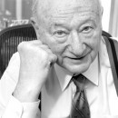 Former New York City Mayor Ed Koch. Koch believes there are certain times when it's appropriate for the mayor to conceal personal information about his staff from the public.