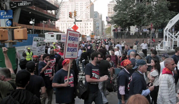 Squeezed by MTA Debt, Transit Workers Join Occupy Wall Street