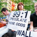 Bank bailouts have fueled the fire of the Occupy Wall Street movement, now in its fourth week, but a new report anticipates lower profit margins. MetroFocus/Sam Lewis