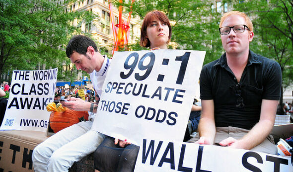 Occupied Or Not, Wall Street Is Sagging