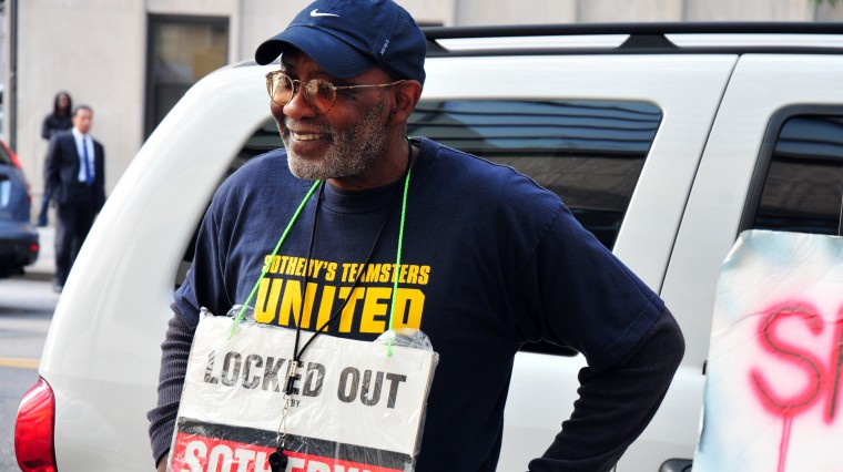Love's Labor Lost: Lockout at Sotheby's