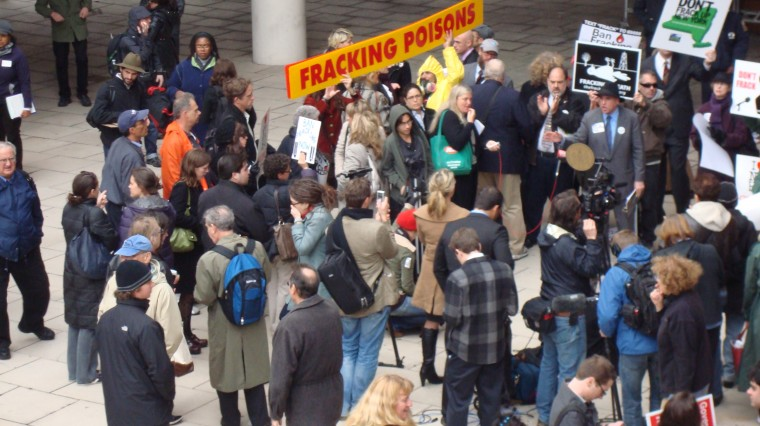 Fracking Fracas in TriBeCa