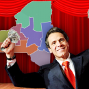Four winning regions were announced Wednesday, in Gov. Andrew Cuomo's new competition for capitol funding. Cuomo created 10 regional councils in New York State last summer. MetroFocus/Kevon Greene.
