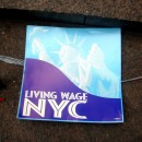 lvign wage sign