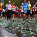 Runners use 2.3 million paper during the New York City Marathon, according to The New York Road Runners, the organization that coordinates the logistical wonder that is this race. MetroFocus/Sam Lewis