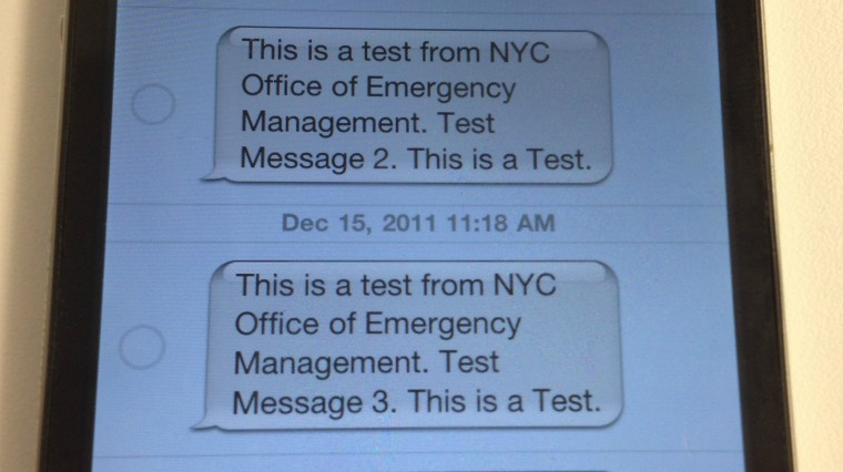 Here's What's Up With All Those 'Emergency Alert' Texts