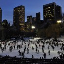 Wollman Rink, near 59th St. in Central Park, is the city's largest rink. Flickr/SpecialKRP