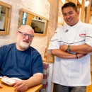 Restaurateur and Chinese food aficionado Ed Schoenfeld and chef Joe Ng fight like brothers and eat like kings in their popular neo-Chinese place Red Farm in Manhattan's West Village. They are planning special delicacies in honor of Chinese New Year, which starts Jan. 23.  Photo courtesy of Clay Williams.