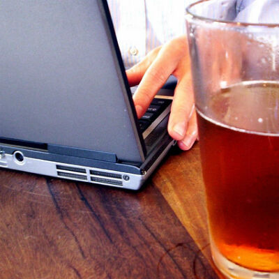 Step Into My 'Boffice': Bars Where Your Laptop Goes Down Smooth