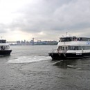 The East River Ferry has been in operation since June, 2011. Average daily ridership has dropped 50 percent. Photo courtesy of NY Waterway's East River Ferry.