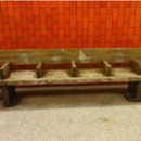 Subway station benches sold like hotcakes from the MTA's memorabilia website. Photo courtesy of the MTA.