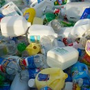New York City only recycles plastic bottles and jugs, though that is slated to change by 2013. Flickr/ kfisto