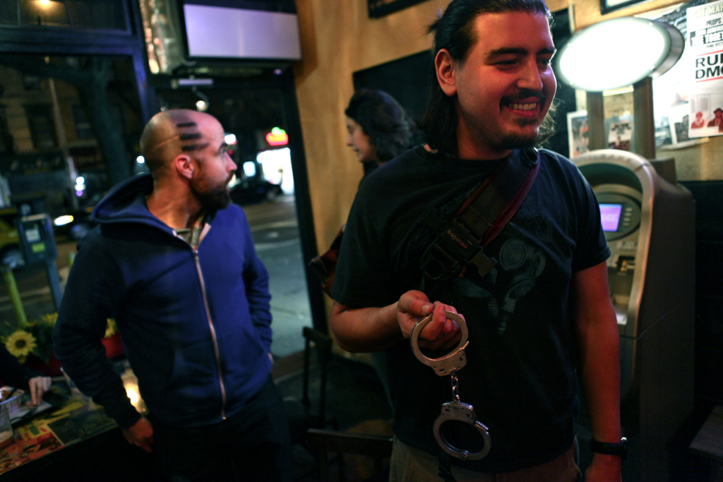 Occupier Gets Out of Jail, and Gets to Keep his Handcuffs