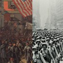The different eras of war in the city, recounted by Steven H. Jaffe.