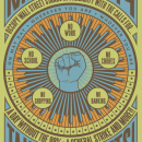 One of many posters for May Day 2012. This poster, created by artist Rich Black, calls on people to take to the streets on May 1, either in permitted marches or general strike actions. Image courtesy of Occuprint.
