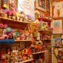 "Founded by the elf-ear wearing Reverend Jen, whose love for ""cute and ugly elemental beings"" inspired the collection, the Troll Museum is located on the sixth floor of a walkup on the Lower East Side. Reverend Jen's living-room-turned-troll-sanctuary includes vintage trolls and memorabilia featuring the mythical creatures. Photo courtesy of Flickr/:::Mat:::"