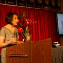 Connie Chung spoke at the 10th Annual Ippies Awards on Thursday evening. The event, hosted by CUNY Graduate School of Journalism, honors the best reporting by community and ethnic media in the city. Image courtesy of Ippies