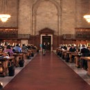 The Rose Main Reading Room at the New York Public Library has hosted scores of researchers for decades. The room will remain the same. MetroFocus/ Chie Witt