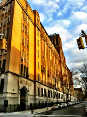 The exterior of Brooklyn Tech is very tradition. Inside, classrooms are outfitted with modern technology.Flickr/futuraprime.