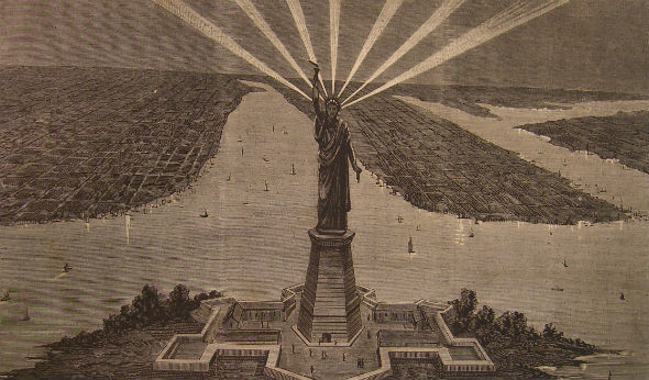 The Hard Sell of an American Icon: The Statue of Liberty