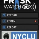 The interface of the NYCLU's new stop and frisk app. Image courtesy of the NYCLU.