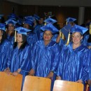 Forty-four adults received their GEDs on Wednesday night in the Bronx. Approximately 40,000 adults take GED classes in the city every year. MetroFocus/ Georgia Kral