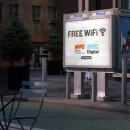 Free WiFi Payphone Kiosk, Columbus Circle