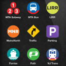 The interface of the Roadify app shows the wide variety of transit options available for users. Image courtesy of roadify.com