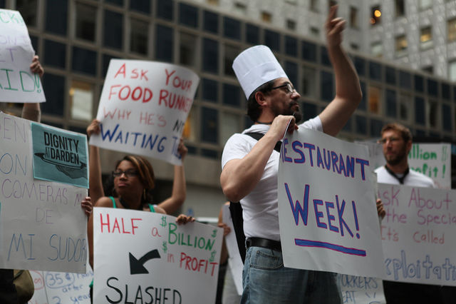 At Restaurant Week, Wage Theft on Capital Grille Menu, Activists Say