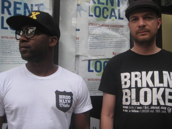 Brooklyn Bloke shirts