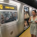 The Q train won the top prize with a ranking of $1.60, winning for the first time since 2001. MetroFocus/Esha Ray.