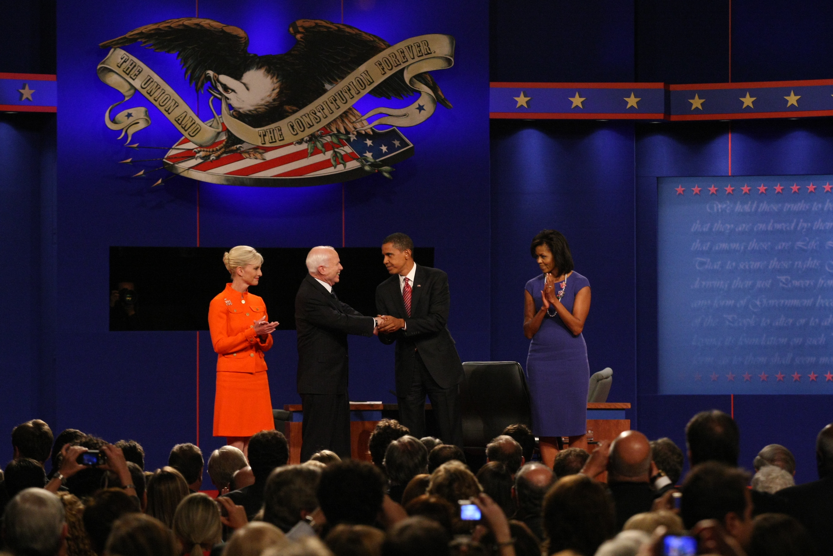 2008 presidential debates essay Relive the best moments from recent and past presidential and vice presidential debates at c  2008 presidential  for the 1976 vice presidential debate.