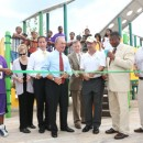 On Aug. 6, Mayor Bloomberg and Park Commissioner Adrian Benepe opened the renovated Rockaway Park in Queens. Photo courtesy of the mayor's office