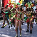 Expect to see colorful costumes at the West Indian American Day Carnival. Flickr/ PaulSteinJC