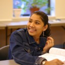 A teen in The Carrera Adolescent Pregnancy Prevention Program. Photo courtesy of The Children's Aid Society.