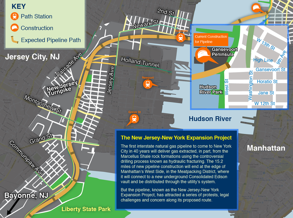 New Jersey - New York Expansion Project gas