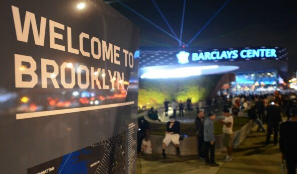 Not Everyone Beaming Over Barclays Center's Lasers