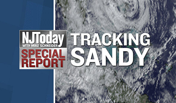 10 am Reports from Bloomberg and Christie: Tracking Sandy