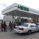 gas station cnypd car line