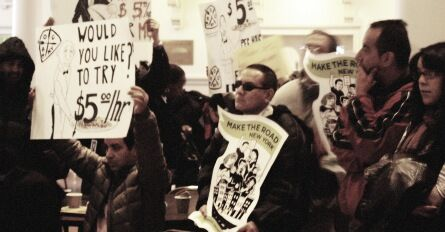 Advocates Send Message Calling For Hike In Minimum Wage