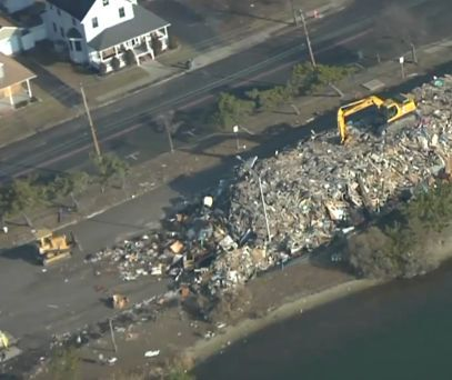 Aerial Video Shows Jersey Shore Damage from Hurricane Sandy
