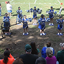 Cheerleaders with special needs inspire at Hunterdon Huskies football games