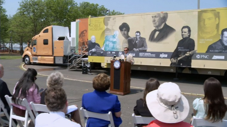 NJ Hall of Fame Launches Mobile Museum
