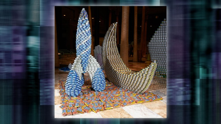 Canstruction 2012: Building Awareness and Breaking the Rules for a Good Cause