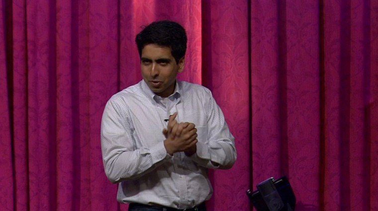 Web Extra: Sal Khan at WNET's Celebration of Teaching & Learning