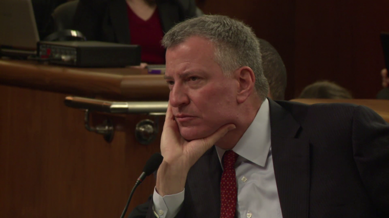 Mayor de Blasio Requests Education, Housing Funding on Annual Tin Cup Day